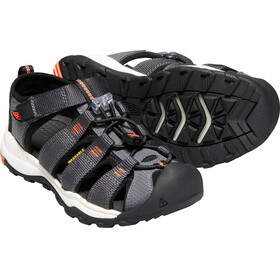 Keen Youth Newport Neo H2 Sandals Magnet/Spicy Orange